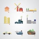 Verschmutzung und Abfall Lizenzfreie Stockfotos