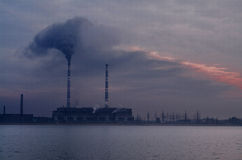 Verschmutzungsökologie lizenzfreie stockfotografie