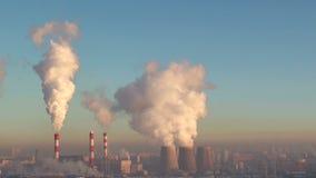 Verschmutzungsanlage, Pfeifen stock footage