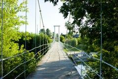 Verschobene Brücke Lizenzfreie Stockbilder