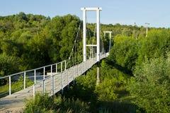 Verschobene Brücke Stockfotos