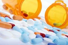 Verschreibungspflichtige Medikamente Stockfotografie
