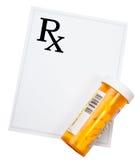Verschreibungspflichtige Medikamente Lizenzfreie Stockfotos