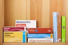 Verschreibungspflichtige Medikamente Lizenzfreies Stockbild
