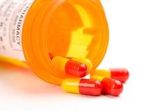 Verschreibungspflichtiges Medikament Stockbilder