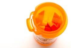 Verschreibungspflichtiges Medikament Stockfotos