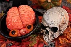 Verschrikking van Halloween. Royalty-vrije Stock Foto