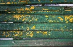 Verschrompelde verf op hout Royalty-vrije Stock Fotografie