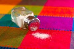 Verschüttetes Salz Lizenzfreie Stockbilder
