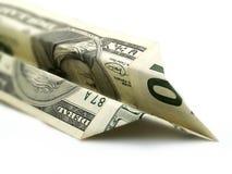 Verschwendung des Geldes Stockbild