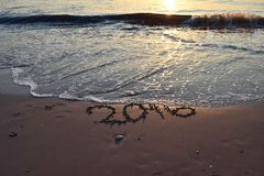 Verschwinden 2016 Stockfotografie