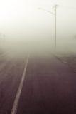 Verschwindene Straße Lizenzfreie Stockfotos