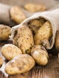 Verse aardappels Stock Afbeelding