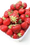 Verse aardbeien Stock Afbeeldingen