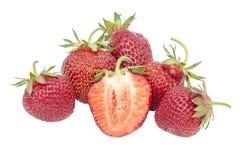 Verse aardbeien Royalty-vrije Stock Foto