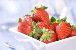 Verse aardbeien Royalty-vrije Stock Foto's