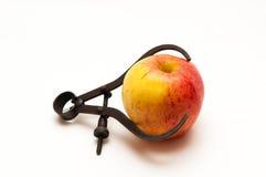 Verse appel die worden gemeten Stock Foto's