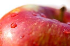 Verse appel op witte achtergrond royalty-vrije stock afbeeldingen