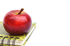 Verse appel voor schoolsnack Royalty-vrije Stock Afbeelding