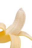 Verse banaan op witte achtergrond royalty-vrije stock afbeeldingen
