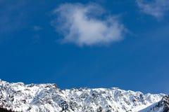 Verse berglucht Stock Foto