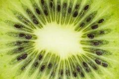 Verse besnoeiing van een kiwi Achtergrond, Textuur stock afbeeldingen