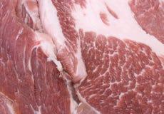 Verse besnoeiing van varkensvlees stock afbeelding