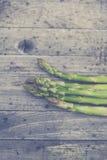 Verse bio groene asperge Royalty-vrije Stock Foto