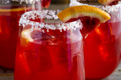 Verse Bloedsinaasappel Margaritas stock foto