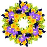 Verse bloemachtergrond Royalty-vrije Stock Foto's