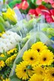 Verse bloemboeketten Royalty-vrije Stock Fotografie