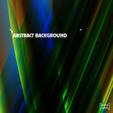 Verse bos groene en blye Vector abstracte achtergrond Stock Foto's