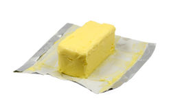Verse boter Royalty-vrije Stock Afbeeldingen