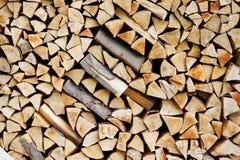 verse brandhouttextuur Stock Afbeelding