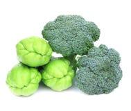 Verse Broccoli en Mara Thai Royalty-vrije Stock Foto's