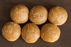 Verse broodjes stock afbeelding