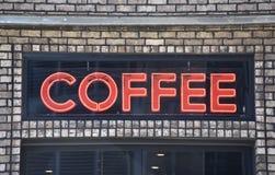 Verse brouwt Heet van het koffiehuis stock afbeelding