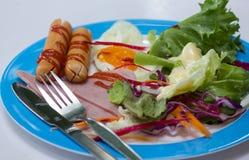 Verse Caesar-salade, Concepten ror gezonde levensstijl Stock Afbeeldingen