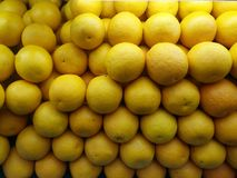 Verse citroen dichte omhooggaand Stock Afbeeldingen