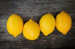 Verse citroenen Royalty-vrije Stock Foto