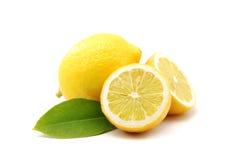 Verse citroenen Royalty-vrije Stock Afbeeldingen