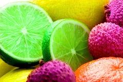 Verse citrusvrucht Royalty-vrije Stock Foto
