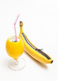 Verse citrusvrucht Stock Afbeelding