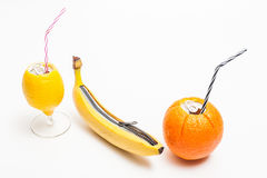 Verse citrusvrucht Stock Foto