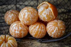 Verse Clementines stock foto