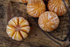 Verse Clementines royalty-vrije stock fotografie
