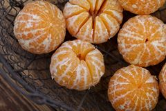 Verse Clementines royalty-vrije stock foto