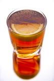 Verse coctail met citroen Royalty-vrije Stock Afbeelding