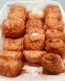 Verse croissant Royalty-vrije Stock Afbeeldingen