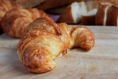 Verse croissant Stock Fotografie